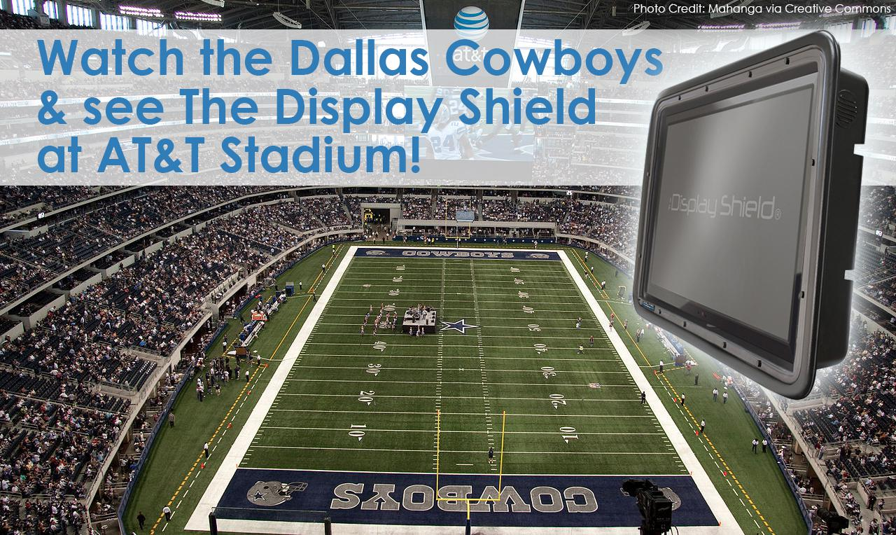 Dallas Cowboys Don't Have to Pony Up this Season: Save on The Display Shield